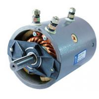 Quality W8941 12V DC Winch Motor , 1.5KW 2400RPM Hydraulic Winch Motor 6N.M Torque wholesale