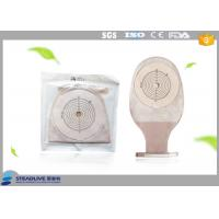 Quality Easy Stick One Piece Ostomy Bag , Urinary Stoma Bag With Max Cut 85mm wholesale