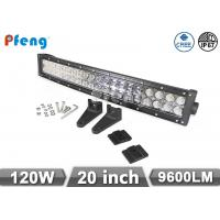 Quality 120W Curved 20 Led Light Bar Cree Chip Waterproof 10V - 30V Operating Volt wholesale