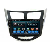 Quality Android 2 Din Radio System GPS Auto Navigation Verna Accent Solaris Car Video Audio Player wholesale