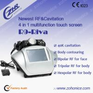 China Multipolar RF Beauty Cavitation Body Slimming Machine For Skin Tightening on sale