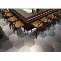 China Low Carbon Hexagon Ceramic Tiles Matt Solid Surface With Low Wastage on sale