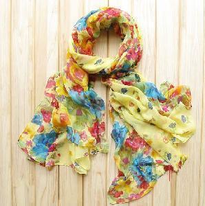 Quality Ramie Cotton Fabric Scarf wholesale