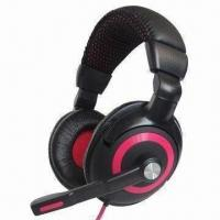 China High quality computer headsets/headphones, perfect for listening to music, online chatting and games on sale