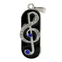 Quality Music Note Design Custom Usb Flash Drives , Personalized Thumb Drive Pendrive wholesale