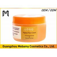 Quality Skin Whitening Face Cream Womens Face Creams Papaya Extract Reduces Dark Spots wholesale