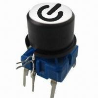 Quality Pushbutton Switch + Cap 1F096 with Legend, 10 Million Cycles Lifespan, Waterproof Meets IP67 wholesale