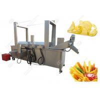 Quality Stainless Steel Potato Chips Frying Machine High Efficiency/Automatic Potato Chips Frying Machine Easy Operate wholesale
