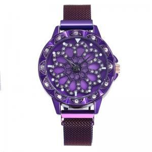 Quality New fashion stone quartz watch japan movt women wrist watch wholesale