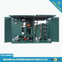 Quality Double stage vacuum transformer oil,Frame Dielectric Mineral Insulation Oil Dehydration plant,degassing wholesale
