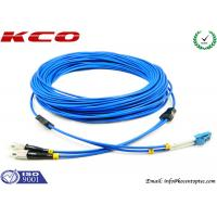 Quality Multimode LC to FC Fiber Optic Patch Cord Duplex Armored Low Insertion Loss wholesale