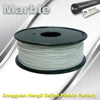 Quality Marble 3D High Strength Printer Filament 3mm / 1.75mm , Print temperature 200°C - 230°C wholesale