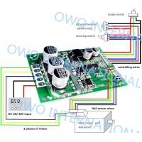 Quality Overload Protection Brushless DC Motor Driver Board Pure Hardware Built Circuit wholesale
