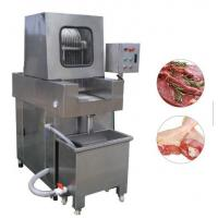 Quality Stainless Steel Chicken Meat Processing Machine Brine Injection 4.1kw Power wholesale