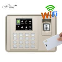 Quality Biometric Fingerprint Time Attendance With RFID Card Reader Linux System Fingerprint Employee Time Clock wholesale