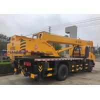 China Heavy Lift Hydraulic Truck Crane Easy Operate With Powerful Lifting Capacity on sale