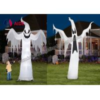 Quality Free Shipping Inflatable Holiday Decor Hallow mas Decoration Ghost On Yard With Led Light wholesale
