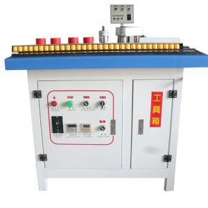 China round corner china pvc edge banding tape making machine  small type on sale