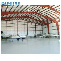 Buy cheap Prefabricated Steel Space Frame Structure Aircraft Maintenance Hangar Arch Roof from wholesalers