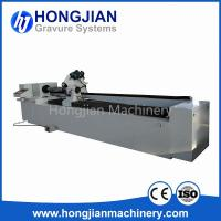 Quality DM Grinding Machine Brushing Machine for Embossing Cylinder Making Embossing Roller Laser Etching Process Brush Rotation wholesale