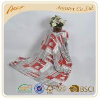 Quality Personalized Queen Size Flannel And Fleece Blanket Portable With 270gsm for sale