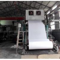 Quality 1092mm Small toilet paper making machine price 2-3TPD tissue paper processing line wholesale