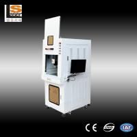Quality Safety Fiber Laser Marking Machines , 60w laser marking equipment High Speed for chip wholesale