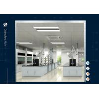 Quality Floor Mounted Lab Desk Furniture , Lab Furniture Installations For Agricultural University wholesale