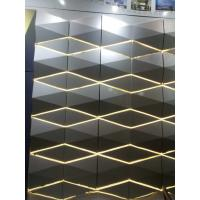 Quality Light Weight 3D Cladding Panels With Or Without Perforated ACP / Aluminum Composite Panel wholesale
