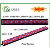 Buy cheap High Effective LED Tube Grow Lights Hydroponic For Plant , Long Life Time from wholesalers