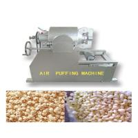 Quality Large Capacity Grain Puffing Machine , Full Automation Puffed Food Machine wholesale