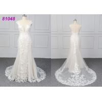 Quality White Color Lace Wedding Womens Ball Gowns Fashionable Bridal Dress Eco wholesale