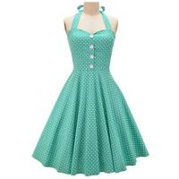 Quality Optionals Color Women Casual Dresses Vintage Polka Dots Summer Sundress wholesale