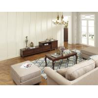 Cheap Rubber Wood Home Living room Leisure Amercian Furniture TV wall unit By Floor for sale