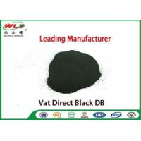 Quality Vat Direct Black DB Textile Cotton Fabric Dye Chemicals Used In Textile Dyeing wholesale