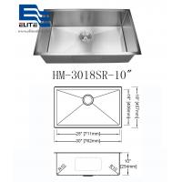 Cheap 304 Stainless Steel Undermount Sink Single Bowl for sale
