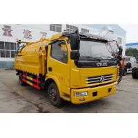 China Dongfeng 2cbm Sewage Water Tank High Pressure Washing And Cleaning on sale