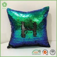 "China Square 16"" x 16"" Reversible Sequins Sparkly Mermaid Throw Pillows on sale"