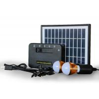 China Monocrystalline Silicon Solar Panel Battery Charger For Electric Fan Hiking Camping on sale