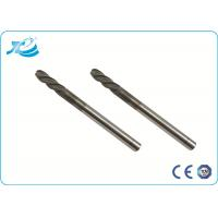 China TiAIN Coating Solid Carbide End Mill with HRC 55 Degree , Diamond Coated End Mills on sale