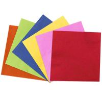 China Comfortable Disposable Paper Napkins Recycle Edge Or Full Embossing on sale