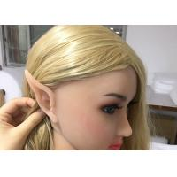 Buy cheap Elf Ear Doll Realistic Short Size Busty Hot Girl Adult Sex Toys 155cm Muscular from wholesalers