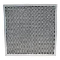 Buy cheap Metal mesh air filters and washable furnace air filters corrugated aluminum mesh from wholesalers