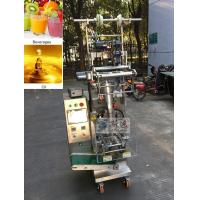 China Cooking Oil Pure Liquid Sachet Packaging Machine on sale