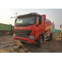 China HOWO Heavy Duty Cement Mixer Truck 10 Wheels Euro IV Standard CCC / ISO on sale