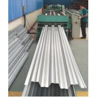 Quality Galvanized Corrugated Steel Roofing Sheets / Floor Deck For Muti - Floor Buildings wholesale