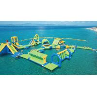 Quality Greece Outdoor Inflatable Floating Water Park Games / Waterpark Inflatables Supplier wholesale
