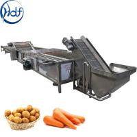 China Multifunction Vegetable Cleaning Machine , Fruit And Vegetable Processing Machine on sale