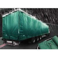 Quality 200gsm Weignt Geomembrane Pond Liner PE Tarpaulin Roll Green Color For Truck Cover wholesale