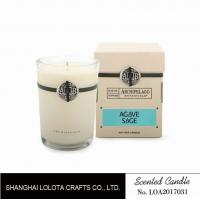 Quality Southern Belle / Raspberry Fragrance Natural Scented Candle Chemical Free , Eliminating Odors wholesale